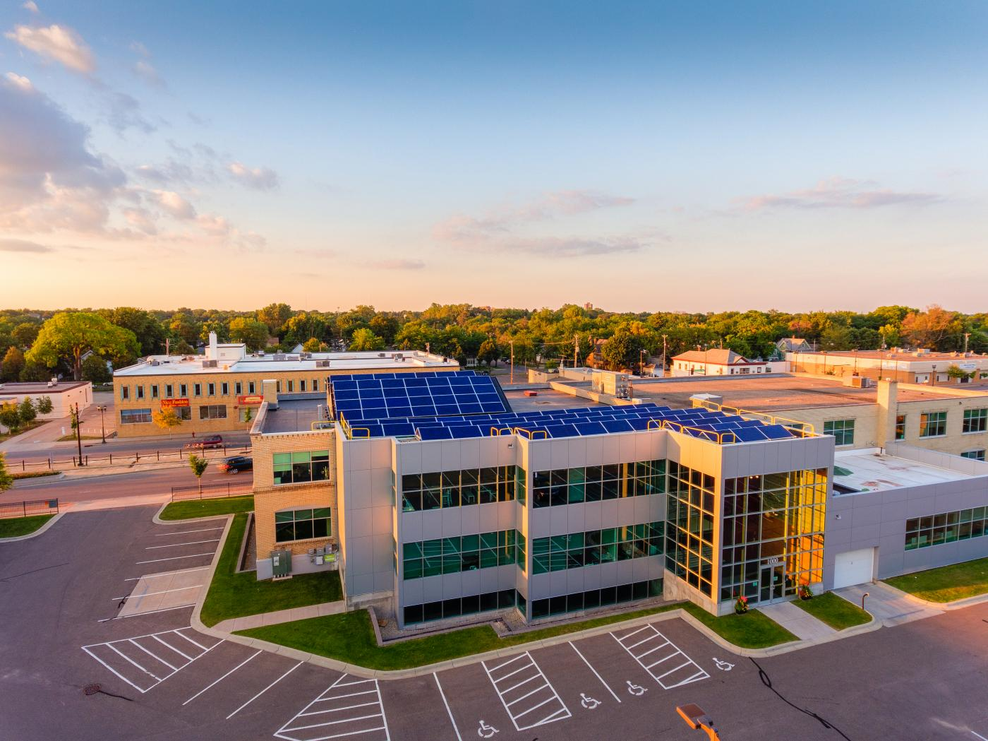Chris Broste Photography, IPS Solar Commercial Rooftop