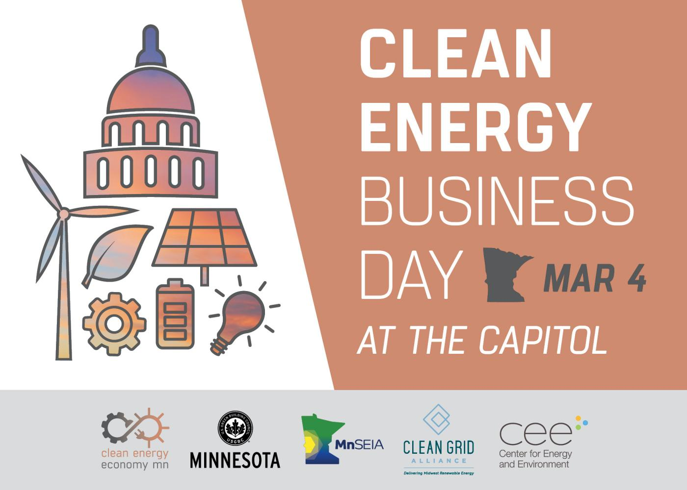 Clean Energy Business day at the Minnesota Capitol