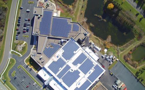 Residential rooftop solar on office MnSEIA policy