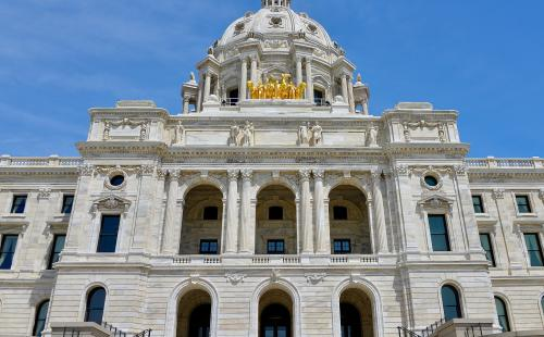 Minnesota State Capitol MnSEIA solar policy wins clean energy