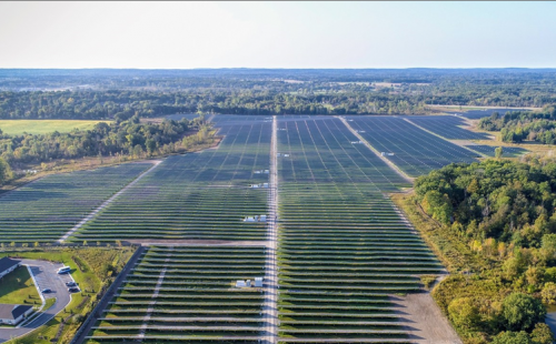 Large solar farm in Midwest rural Minnesota MnSEIA