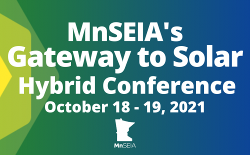 Gateway to Solar Conference MnSEIA Event