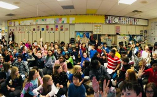 Teaching Solar to 150 5th Graders at Glacier Hills Elementary