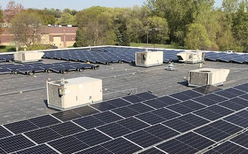 Minnesota commercial solar installation MnSEIA clean jobs economy policy