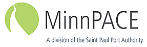 MinnPACE Logo, a division of the St. Paul Port Authority