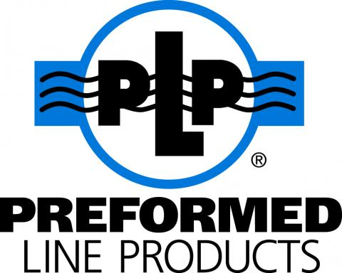Preformed Line Products Logo Blue and black