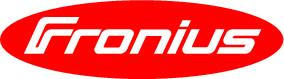 Fronius Logo red and white