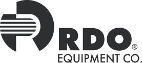 Black and grey RDO Equipment Co