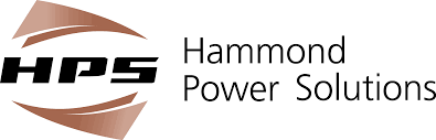 tan and black hammond power solutions logo
