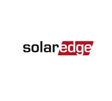 Red and Black Solar Edge Logo