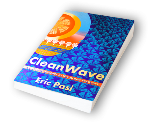 Clean Wave Book Gateway to Solar Silent Auction Sponsor