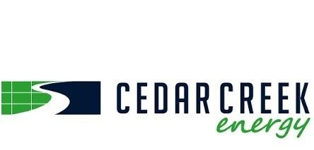 Cedar Creek Energy Logo blue & green