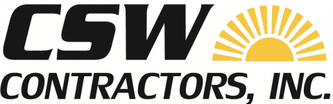 CSW Contractors, Inc. Logo