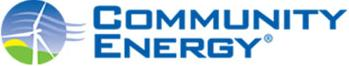 Community Energy Solar Logo Blue & Green