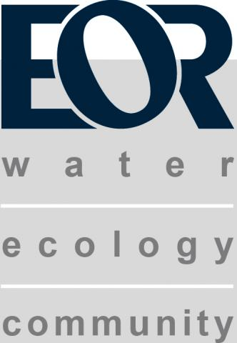 EOR Inc. Logo Grey & Blue