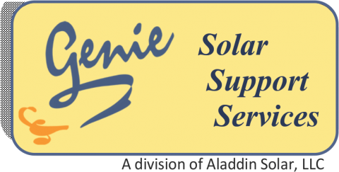 Genie Solar Support Services Logo