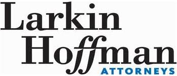 Larkin Hoffman Attorneys Logo Black & Green