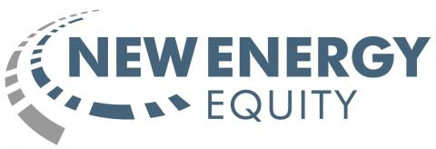 New Energy Equity Logo Blue with pathway