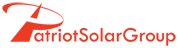 Patriot Solar Group Logo Red