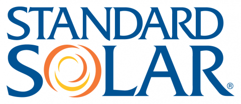 Standard Solar Logo Blue & Orange