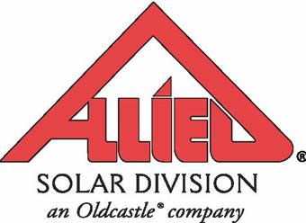 Allied Solar Division Logo Red Triangle Roof