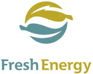 Fresh Energy Logo Blue & Gold