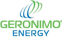 Geronimo Energy Logo Blue & Green