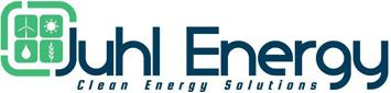 Juhl Energy Logo Blue & Green