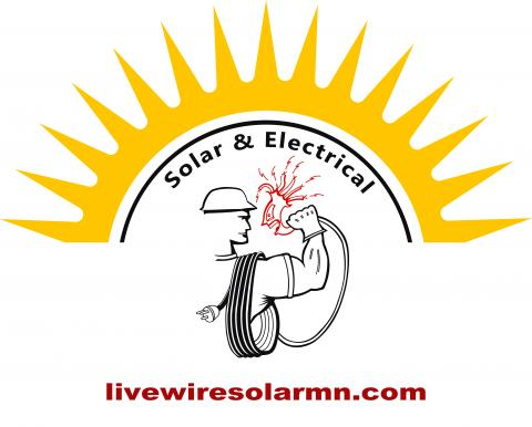 Live Wire Guys Logo sun shape