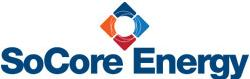 SoCore Energy Logo Red & Blue Diamond
